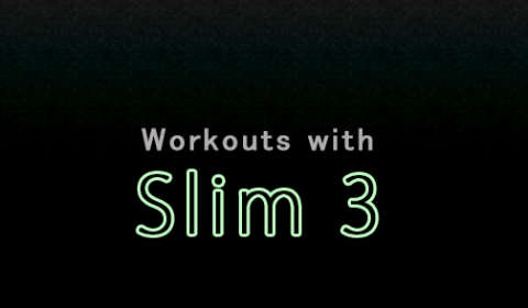 Workouts with Slim 3:Database with PDO and Eloquent