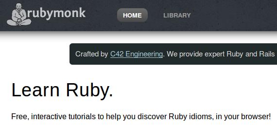 RubyMonk