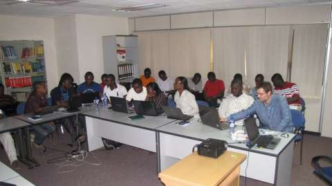 African employees are scared of softwares